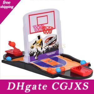 Barretta del doppio di espulsione Desktop basket Parent ripresa -Bambini Interactive gioco della palla Spara Piattaforma di lancio interesse Toy Battaglia