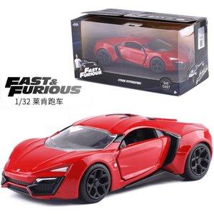 01:32 Jada Fast and Furious classique en alliage Model Car lykan hypersport Diecasts métalliques Véhicules Collection jouet pour les enfants cadeau