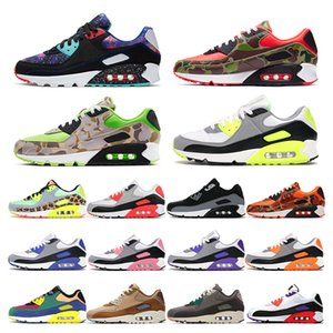 90 mens sneakers running shoes Dancefloor Green Supernova Volt rose Hyper Grape Camo orange Olive womens sports trainers fashion outdoor