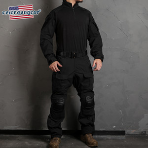 Gen3 Combat Pants Tactical MENS hunting Training Trousers Duty Cargo Pants w Knee Pads Black Color