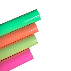 Free shipping 1 foglio 25cmx100cm trasferimento di calore luminoso vinile Glow in Dark nottilucenti pressa di calore della maglietta di ferro sul HTV VENDITA!