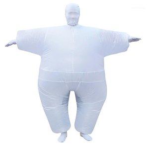 Tamaño unisex colorido especial de ropa Cosplay de Halloween sumo inflable tema del traje gratuito