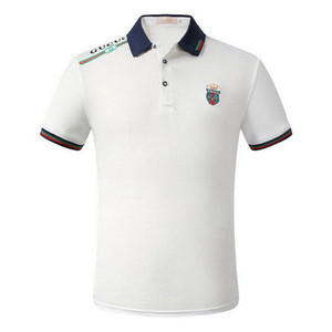 2020Italian Brand New Fashion Polo Casual Polo Homme T-shirt Polo serpent Lettre d'abeille Impression Broderie Mode Taille M-Casual Polos 3XL