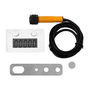 New 5 dígitos perfurador Eletrônica Digital Contador Magnético Indutivo Display LCD Switch Proximidade Rodada Powerful Magnet-5J