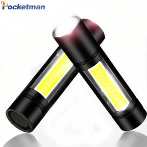Super Bright COB LED Waterproof Hand Hold Flashlights Torch Lantern Work Light for Emergency Lighting