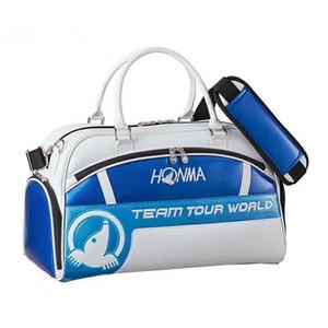 Honma Golf Boston Bag Männer und Frauen-Sport-Reisetasche High-End-Kristall-PU-Golf-Bekleidung Tasche