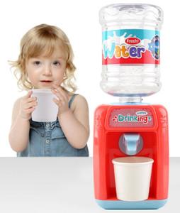 Cute Mini water fountain toy Kid playhouse toy Fun drinking machine Children birthday Gift Imitation water dispenser toy