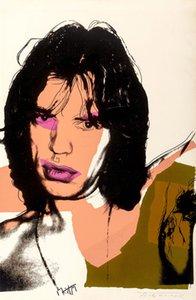 Andy Warhol Duvar Dekor Oil tarafından Mick Jagger IV Living Room 200829 için Tuval Ev Dekorasyon Wall Art Kanvas Tabloları Açık Boyama