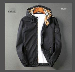 2020 vendita calda! nuovo rivestimento di marca di inverno degli uomini Autunno Slim Fit Mens abiti firmati Red Men Casual Jacket Slim Plus Size M-3XL