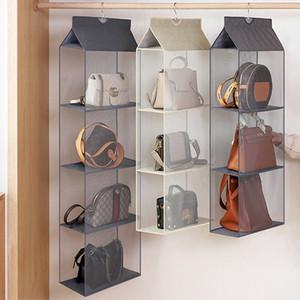 원단 보관 가방 방진 보관 가방 2/3/4 층 양말 옷장 주최자 홈 서랍 도구를 마무리 벽 마운트 매달려