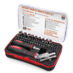 Hi-Spec 61pc Repair Tool Kit trinquete zócalo de destornilladores de los hogares de destornilladores de precisión para el hogar electrónica