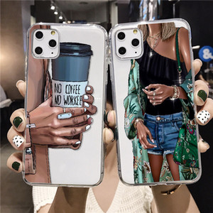 The New Style Is Suitable For IPhone11 XR XM 78 Fashionable And Colorful Girl Mobile Phone Case TPU All-Inclusive Mobile Phone Case