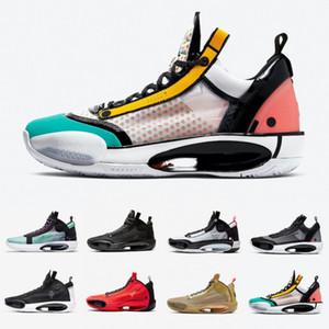 2020 Го Ailun Heritage Noah Инфракрасная 23 Синий O печати 34 мужчин Баскетбол обувь XXXIV Leopard Mens 34s снег спортивные кроссовки 40-46