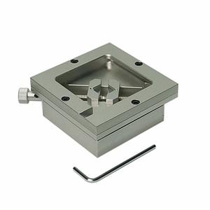 rework lehim istasyonu için İstasyon aracını reballing Evrensel 90mm Metal BGA Stencil Şablon Tutucu Foxture Jig PCB Chip BGA
