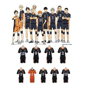 Haikyuu Cosplay Karas Schule Volleyball Verein Hinata Shoyo Sport Jerseys Uniform Haikyuu !! Anime Cosplay