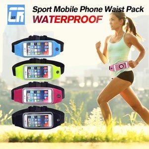 Outdoor Running Waist Bag Waterproof Mobile Phone Holder Belt Jogging Pack Bag Gym Fitness Touch Screen Bag Sport Accessories
