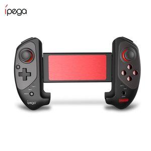 cgjxs Cgjxsoriginal Ipega Pg -9083s Red Bat Bluetooth Gamepad Bluetooth 4 .0 elegante tocco di rotazione di 360 gradi per iOS / Android / PC / Win T1912