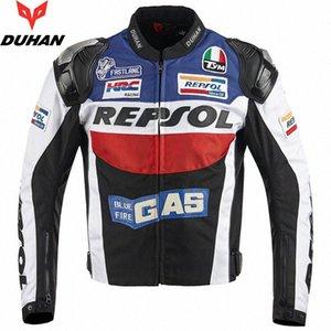 DUHAN Motosiklet Ceketler moto GP REPSOL motosiklet yarış Ceket Üst Kalite OXFORD Binme Jersey NTf6 #