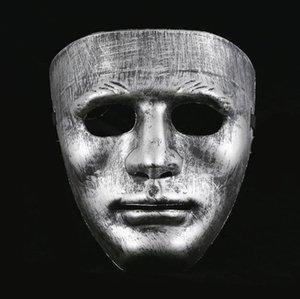 Effectuer des hommes Costume complet Masquerade Masque Costume Face Plastique Vintage Masques Halloween Stage Masque de Noël Unisexe masqué Vénitien QPMI
