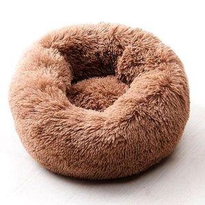 Willstar кровать собаки Зима теплая Длинные Плюшевые Спящий кровати Soild Цвет Мягкая Pet Собаки Кошки Мат Подушка Dropshipping