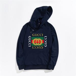 Sportwear Manteau Jogger Survêtement Pull en molleton Sweat-shirt ras du cou d'oiseau OVO Drake noir Hip Hop gucci Hoodie hommes requin bouche lumineux