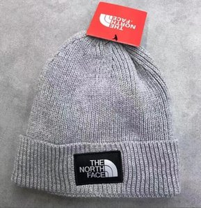 2020 Moda Gorros TN Marca Men Outono-Inverno Chapéus Esporte Knit Hat Thicken Aqueça Casual Hat exterior Cap Dupla Face do crânio Beanie Caps