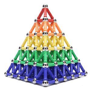 350PCS Mini Magnetic Building Blocks Magnetic Designer Constructor Toy Magnet Building block model Educational Toys Children's Toys Gift LLL