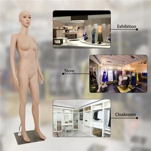 69 Pouces Femme Mannequin Full Body forme de robe sur mesure de modèle Props Mannequin Dressing Fit Tous les types de vêtements Vitrine W38112734