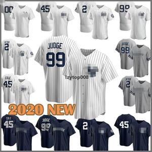kostenlos shipNew Baseball-Shirt 2020 99 Aaron Richter Yankees 2 Derek Jeter 45 Gerrit Cole 25 Gleyber Torres 26 DJ LeMahieu 23 Don Matt