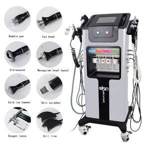 8 em 1 máquina facial da pele limpeza / rejuvenescimento da pele de elevação, Gestão de pele, Comprehensive hidrogênio e oxigênio Bubbles, limpeza e Hy