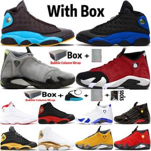 2020 Jumpman High 13 13s Black Cat Hyper Royal Mens Basketball обувь 14 14s DB Doernbecher Light Графит Спортивные тренажеры Кроссовки Размер 7-13