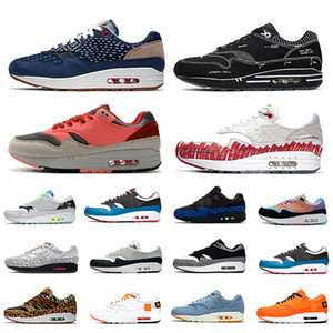 Nike Air Max 1 Airmax x Denham Schema 1 Herren Laufschuhe Skizze zum Regal Skript 1s Animal Pack Parra Elefant Tokio was die Animal Pack Männer Frauen Trainer Sport Turnschuhe