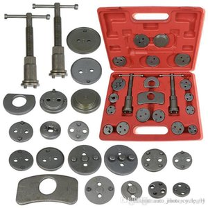 21pcs Universal Car Disc Brake Caliper Rewind Back Brake Piston Compressor Tool Kit Set For Automobiles Garage Repair Tool DHL UPS