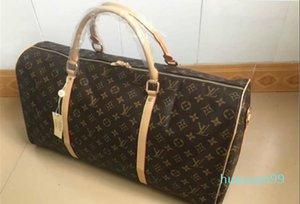 hommes New- sacs de voyage femmes grande capacité de transport sac fourre-tout à bagages nuit Weekender avec serrure numéro de série