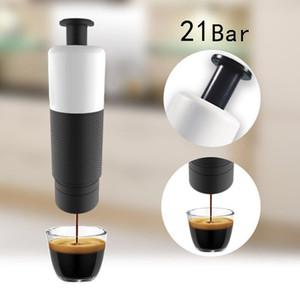 Manual Coffee Maker Machine Hand Pressure Portable Coffee Machine for