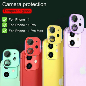 Colorful 3D Full Cover Tempered Glass Camera Lens Screen Protector For iPhone 11 Pro Max   11 Pro   11 Lens Glass Film