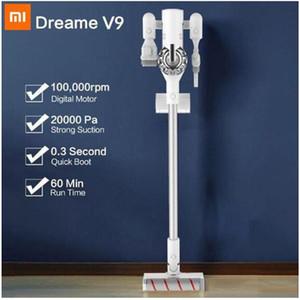 샤오 미를위한 Dreame V9 휴대용 무선 진공 청소기 Protable 무선 사이클론 120AW 강력한 흡입 카펫 먼지 수집기