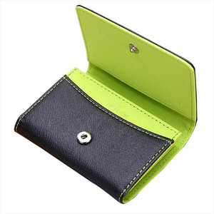 Fashion Hasp Small Wallet Men Ultrathin Mini Wallet Coin Purse Student Card Holder Kids Drop Shipping