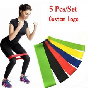 2020 neue Yoga-Gummi Widerstand Assist Bands Gum für Fitness Equipment Übungsband Workout Zugseil Stretch Cross Training FY7008