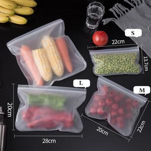 EVA food preservation bag refrigerator food storage bag fruit and vegetable sealed bag can be reused