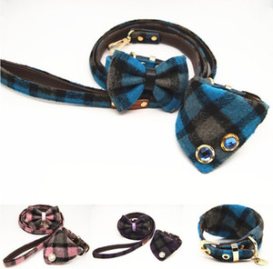 Halloween pet collar leather stitching dog leash set wholesale free shipping 0924-01-13