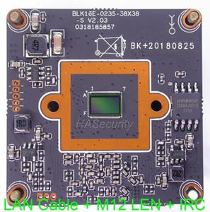 """H.265 / H.264 IPC (1080P) 1 / 2.7"""" SmartSens sensor CMOS + Hi3516E CCTV IP placa da câmara módulo PCB + LAN cabo M12 LEN IRC"""
