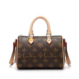 2020Designer حقائب NANO سريع M61252 MINI الكتف حقيبة رسول حقائب يد هدية مربع التعبئة والتغليف عالية الجودة جرد بقعة شحن مجاني