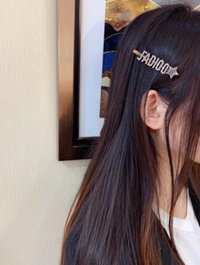 D / Dijia إلكتروني جديد جاديو بيرل ستار دبوس الشعر أزياء بسيطة عالية الجودة المرأة دبوس الشعر
