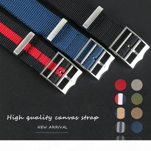 Sports Nylon Nato Zulu Parachute Watchband Watch Strap for Black Bay 22mm 21mm Bracelet Accessories French Troops