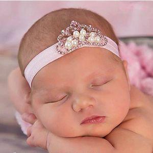 TWDVS Fashion Headwear Lace Flower Hairband Kids Headband Bands Newborn Hair Accessories 4 Colors w--018