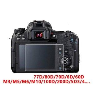 8H antigraffio protezione dello schermo per Canon 70D 700D 6D 5DII 60D 600D 650D Fotocamera vetro temperato Pellicola protettiva