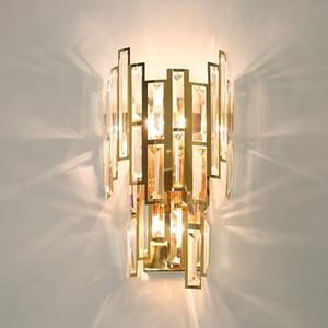 Postmodern Light Luxury Crystal Chandelier Living Room Lamp Simple Atmospheric Designer Home Bedroom Dining Nordic Style Lamp