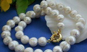 "10-11mm blanc perle Akoya Collier 18 Cultured ""+ Bracelet 7.5"""