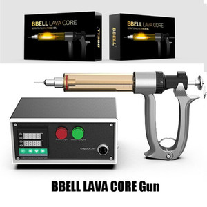 Authentic BBELL LAVA Core Carts Filler 25ml 50ml Temperature Control For Vape Cartridges Oil Filling Machine Semi Automatic Injection Gun